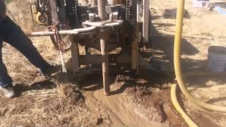 Perforación pozo de agua pura